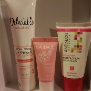 High end lotion lot